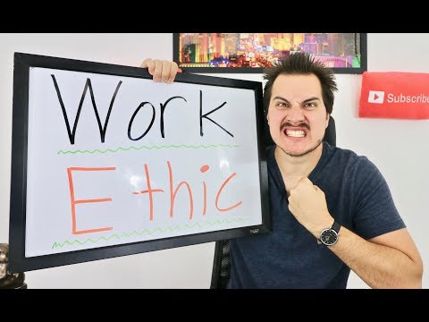 How to develop an INSANE WORK ETHIC!