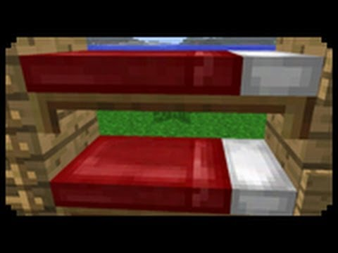 Minecraft: How to make a Bunk Bed