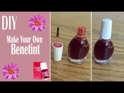 DIY: Benetint (Red Lip Stain)
