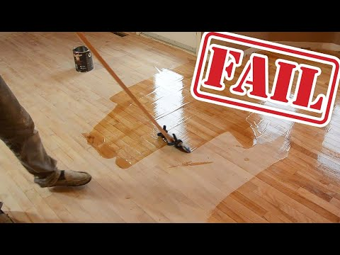 Wood Floor Refinishing FAILS! (YouTubers Called Out!)