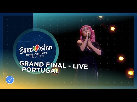 Cláudia Pascoal - O Jardim - Portugal - LIVE - Grand Final - Eurovision 2018