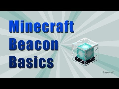 Minecraft Tutorial: Beacon Basics (1.12.2)