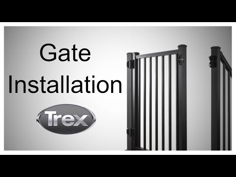 How to Install a Gate on Your Trex Deck