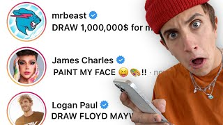 Letting Youtubers Choose what I Customize!! (ft. Logan Paul, tanner Fox, Rhino, etc.)