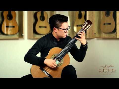 Xingye Li plays Allegro BWV 1003 by J. S. Bach on a 2014 Roy Fankhänel