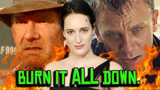 Indiana Jones 5 is a Time Travel RETCON?! James Bond DIES at the Box Office?!