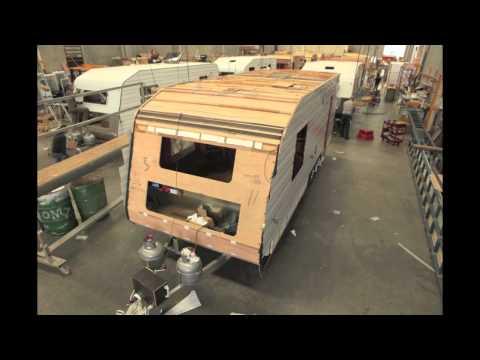 Time Lapse Caravan Construction Video - Concept Caravans
