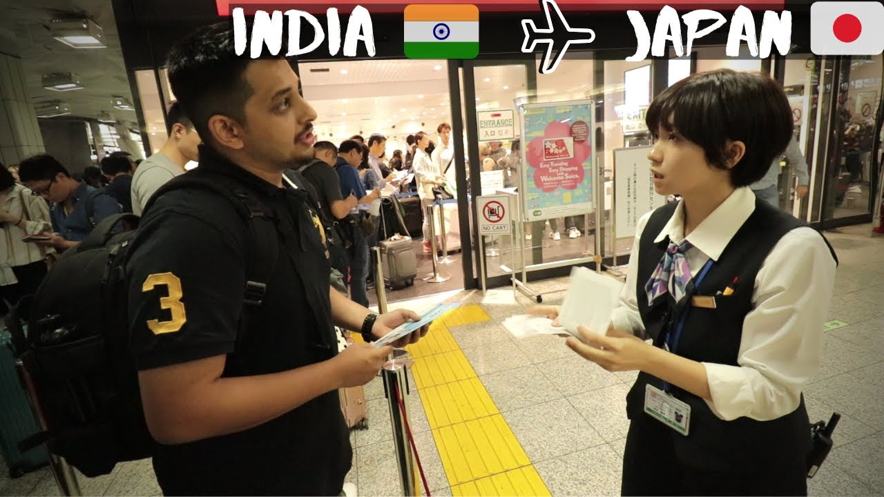 Flying From India To Japan | Flight, Visa, Cost, Rail Pass, Sim Card | Indian in Japan E01