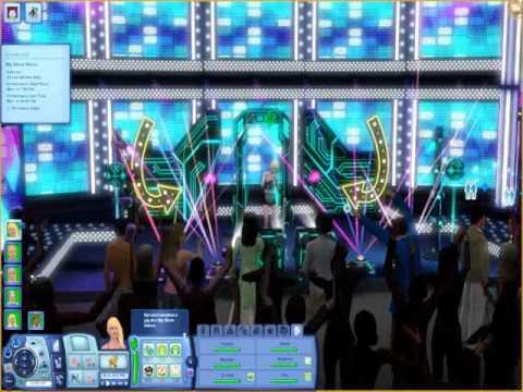 The Sims 3 Showtime: Vocal Legend sim concert
