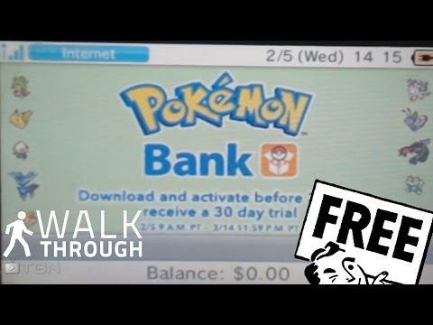 Pokémon Bank Transporter How to download and Install North America