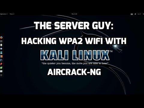 Pentest: Hacking WPA2 WiFi using Aircrack on Kali Linux