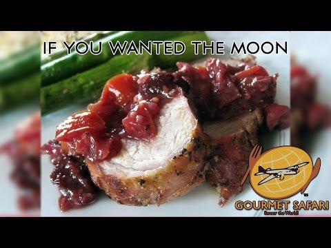 Mediterranean Roasted Pork Tenderloin with Fruit Chutney    Gourmet Safari