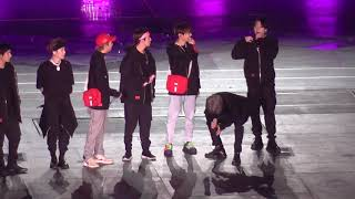 191029 BTS - padotagi ment 막콘 파도타기full (SYS in seoul Day3)