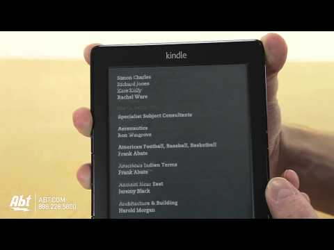 Overview of the Amazon Kindle Wi-Fi eBook Reader - B006ZZEUXM