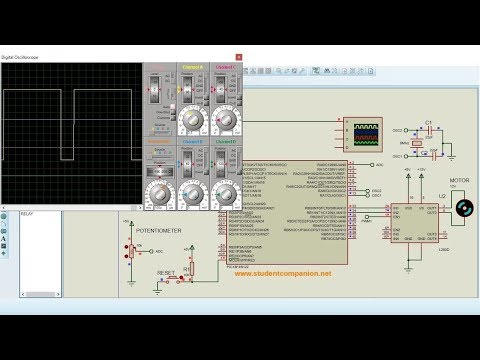 mikroC Pro for PIC Tutorial -21- DC Motor Speed Control