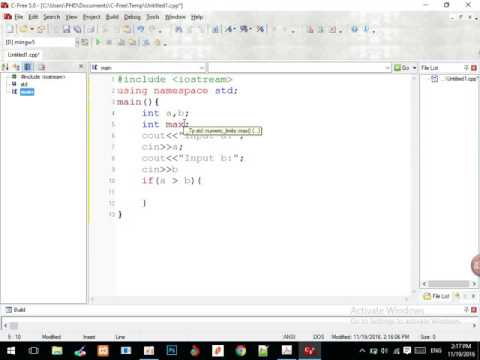 Learn C++ for Beginner How to find maximum from two values   krumony