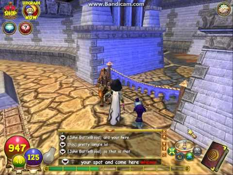 How to get behind the blue ribbon in wizard101 arena. With me and John