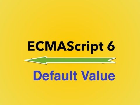 5-  ES6 || Default Value