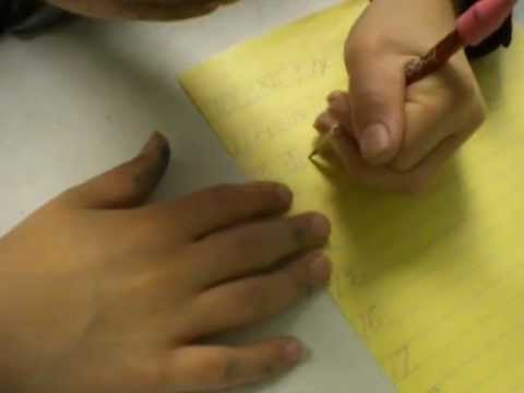 Dysgraphia / Dyslexia - Try Writing and Reading Upside-Down