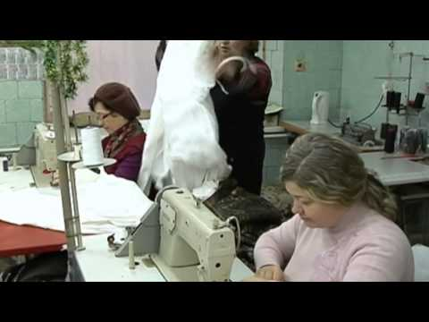 Ukrainian Volunteers Sew Winter Army Uniforms: Lviv activists make camouflage uniforms for soldiers