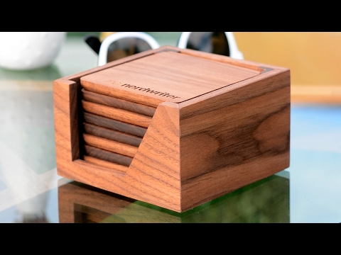 Custom Coasters for Casey Neistat and The Nerdwriter - Woodworking Projects