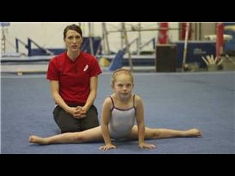 Intro to Gymnastics : Middle Splits for Gymnastics Warm-Ups