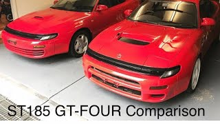 Toyota Celica GT four st185 differences. walkaround