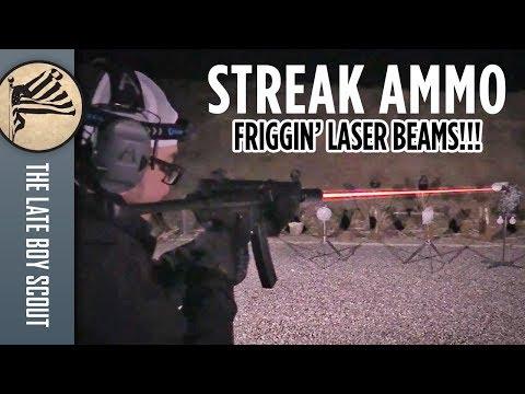 Non-Incendiary Tracers?! Streak Ammo in Full Auto