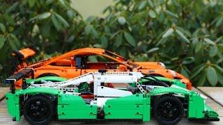 Lego Technic challenge: 42039 VS 42056