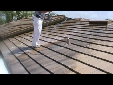 WATCH HOW TO CLEA A TILE ROOF BY CHUCK BERGMAN 33947