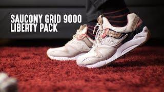 f6b72cbc9cca Saucony Grid 9000 Liberty Pack Light Tan Review! (Bahasa Indonesia)
