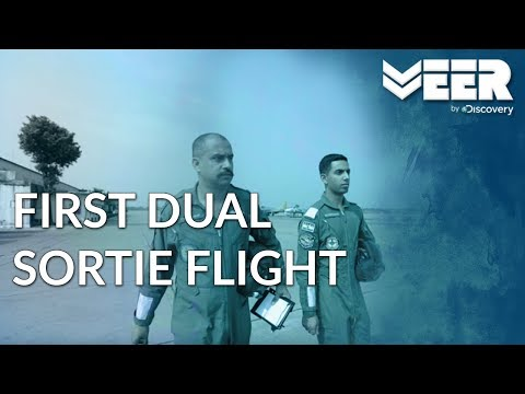 Indian Air Force Academy E2P3 | First Dual Sortie of Flight Cadets | Veer by Discovery