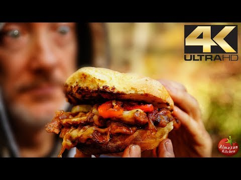 The Godlike Sandwich 4K - Impossible Cooking in the Forest