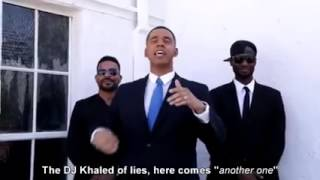 Barack Obama Disses Donald Trump while riding a Smart Scooter Hoverboard for Immigrant (Rap Battle)