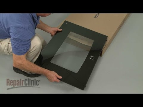 Kenmore Electric Oven Outer Door Glass Replacement #318304124