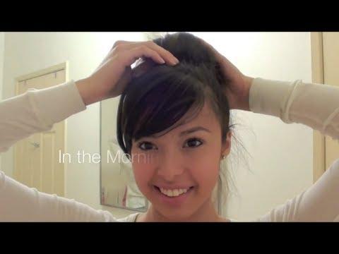 Tip # 5 : Sock Bun Loose Curls [No Heat]