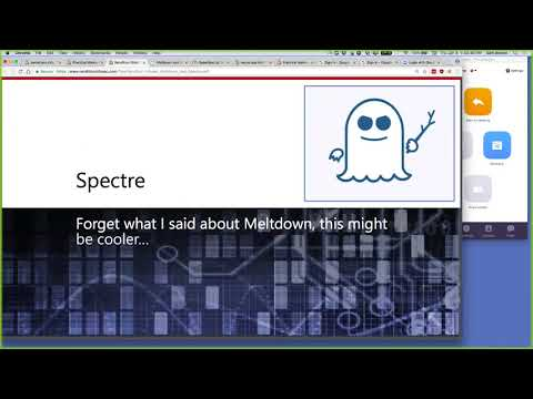 Spectre Demo and Practical Malware Analysis