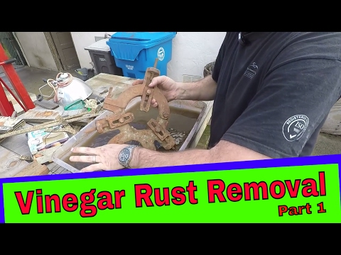 Rusty Cast Iron Restoration part 1