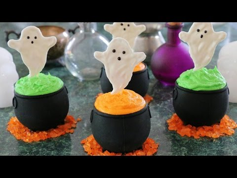 Haunted Witches Brew Cupcakes!