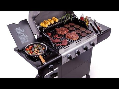 Char-Broil Advantage 4-Burner Gas Grill - Lowe's Exclusive