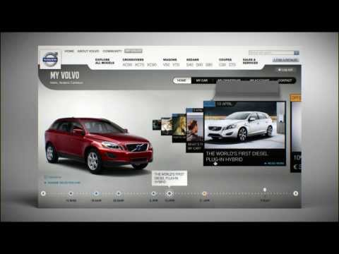 MyVolvo: A personalised website for you and your Volvo