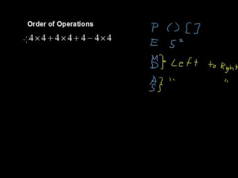 What are the Orders of Operations? (part 2) - Math Help