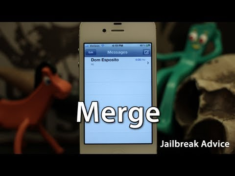 [Jailbreak Advice] Merge - Unify iMessages From The Same Contact But Different Addresses