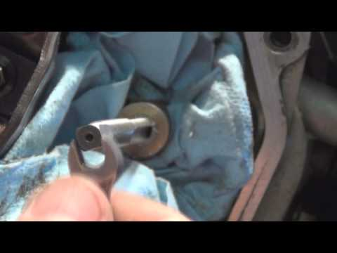 How to rethread a stripped bolt hole video