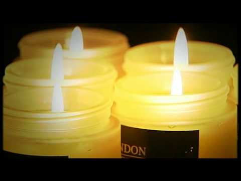Set of 6 Candles with Lids