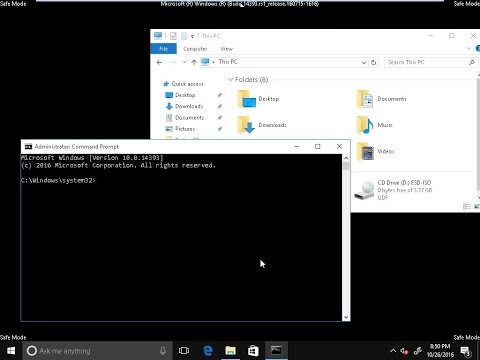 How to boot into safe mode on windows 10