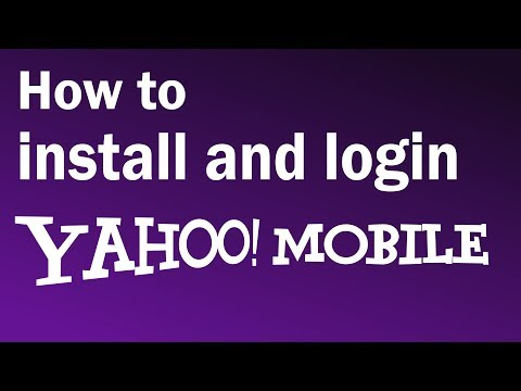 How To Install and Login to Yahoo Mobile   Yahoo Mail Login Mobile - 2019