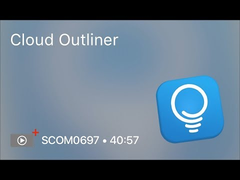 SCOM0697 - Cloud Outliner - Preview