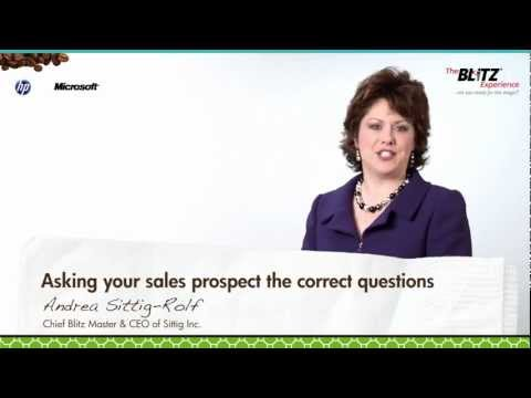 Sales Tip: Best Questions for Your First Prospect Meeting