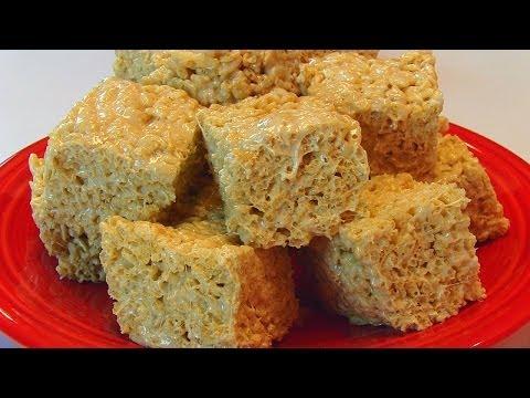 Betty's Salted Caramel Rice Krispies Treats